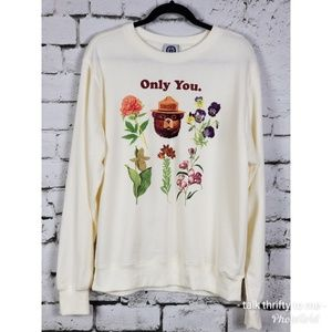 SMOKEY THE BEAR Graphic Print Sweatshirt XL